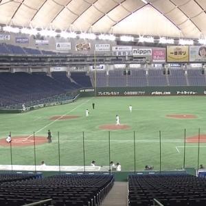 【巨人vs西武】自粛明け初の練習試合!目立っていたのは尚輝と中島