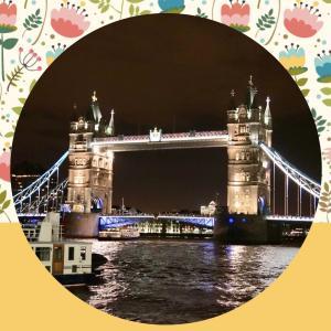 ♪パリ・ロンドン・モンサンミッシェル♪クリスマスの旅☆夜のロンドン