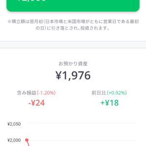 2019年8月第5週のLINEスマート投資