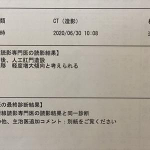 治療日&CT結果報告