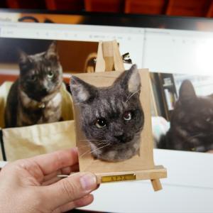 下手くそなので「猫」のオーダーが入らない!(ノД`)シクシク