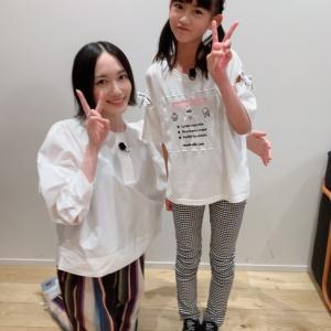 さくら学院の木村咲愛ちゃんとPerfumeのっちさんのツーショット写真