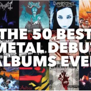 Metal Hammer「史上最高のメタルデビューアルバムトップ50」でBABYMETALが39位