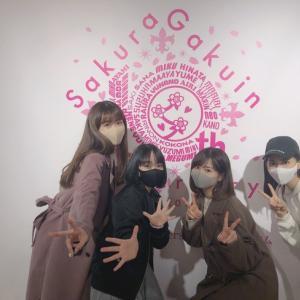 卒業生達が「さくら学院10th Anniversary ミュージアム」をご訪問