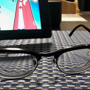 新しいメガネ買いました