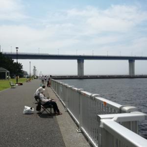 東京カーシェア釣行記(若洲海浜公園)