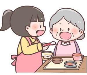 食べこぼしが多くなった母に使い捨ての紙エプロンで後片付け楽々