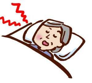 いびきと軽い睡眠時無呼吸症候群の母、一緒に寝るときの対処法