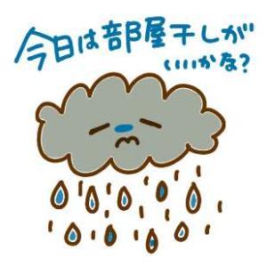 雨の日は洗濯物を浴室に干してみませんか
