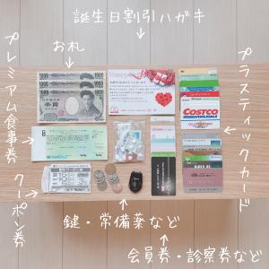 【1000円台のお財布ポシェット】非ミニマリストの財布の中身。財布の中身を減らす5つのコツ