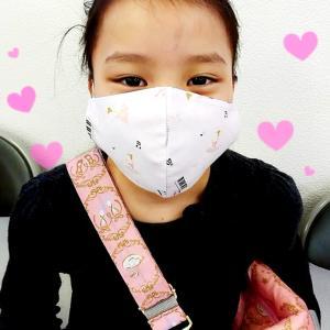 かわいい〜手作りマスク♪