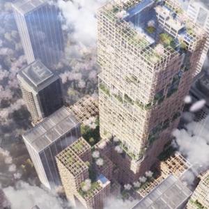 【住友林業】木造で地上70階建て(高さ350メートル)の高層ビル構想実現へ… ※11階建て以上の例なし