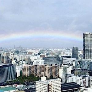 【雲の合間から虹】即位礼正殿の儀「天照大神のおかげ」神話そのままの出来事に世界も驚嘆