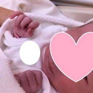 赤ちゃんが生まれました!!②