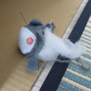 猫雑記 ~すずめのびっくりハプニング~