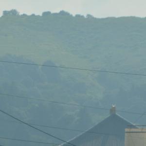 平城京跡から眺める大仏殿は