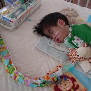 生後1308日目★入院4日目