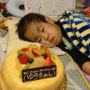 Happy birthday 3歳10ヶ月★