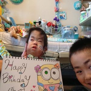 Happy birthday 3歳5ヶ月★