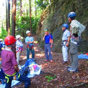 天覧山 岩トレーニング