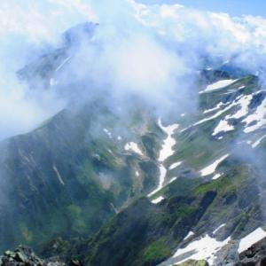 2020年 剣岳② 登頂=ヨコバイ