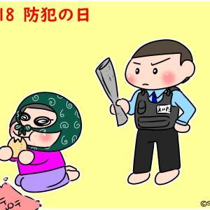 【今日はなんの日】2/18 防犯の日