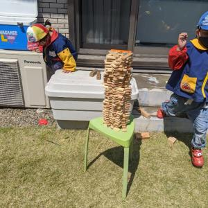 【コロナウイルス】緊急事態宣言8日目 お庭遊びに新しく購入したアイテム!