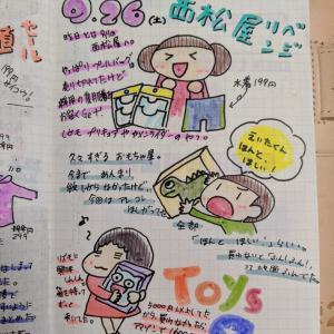 【ほぼ日手帳】2020.9.26 27 半沢ロス