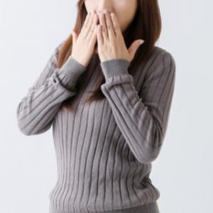 マスクしてて自分の息が臭いと気づく?まわりの迷惑にならないように!