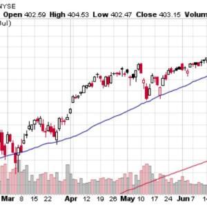 2021/07 資産配分 S&P500は年初来18%の上昇