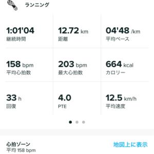 ジョグ  何とか月間300km