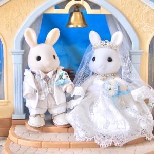 白ウサギさんの結婚式