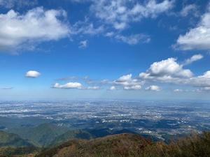 2020/10/25 大山新歓登山