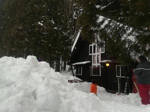雪見の宴 in元橋山小屋