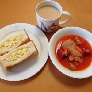 リサイタル当日の朝食