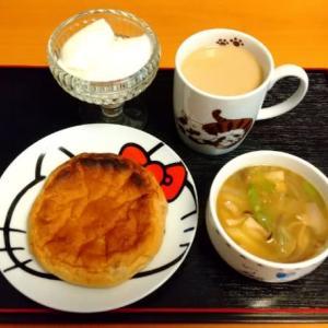 熊本県産の食材の朝食