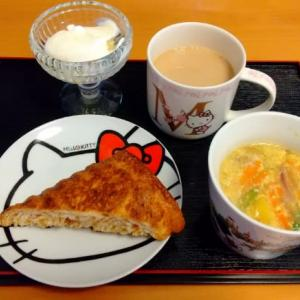 熊本県産食材の朝食