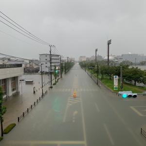 暴れる秋雨前線(>_<)