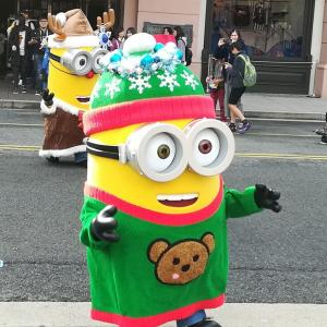 USJ写真日記11月18日②ミニオン、クリスマス