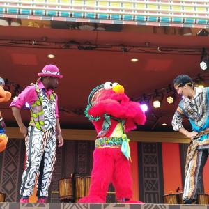 USJ セサミストリート・アフロビート 4回目 2020年7月14日 sesami street afro beat