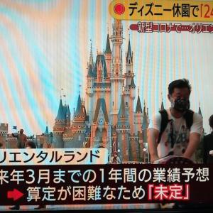 東京ディズニー・リゾート 駅前で解雇反対デモ さんじゃぽ TDR 20200920