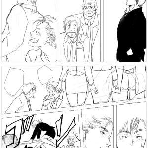 漫画をまとめようと思います(´∀`=)みんなで潜入するお話です(*´∇`*)