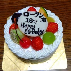 18歳の誕生日