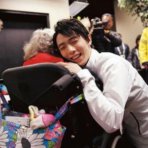 羽生選手と車椅子の女性 NHKカルチャー 放送予定 他