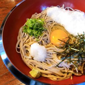 豊岡市日高町十戸にある蕎麦屋「寿楽庵」の「山かけそば」が美味い!