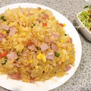 豊岡市若松町にある喫茶店「リンド」の焼き飯【大】がものすごい!