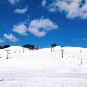 豊岡市日高町にあるスキー場「アップかんなべ」に行ってきたよ!