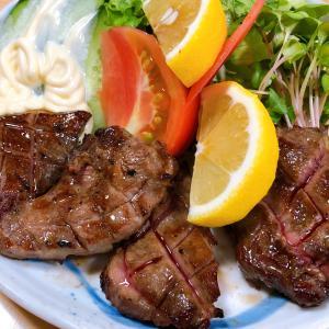 豊岡グルメ・居酒屋「渡月」の「牛タン」と「ゴーヤチャンプル」が美味い!