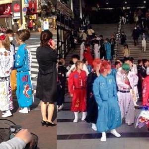 岡山駅前「特攻服」中学生 補導へ 県警や教委が対策強化
