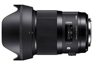 そして、Sigma Art 35mm F1.4 DG HSM Eマウントを・・・。